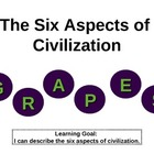 The Six Aspects of Civilization: G.R.A.P.E.S. PowerPoint P