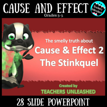 The Smelly Truth About Cause & Effect 2 - The Stinkquel