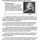 The Spanish American War and Yellow Journalism Lesson Plan