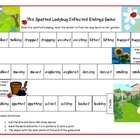 The Spotted Ladybug Inflected Endings Game Literacy Statio