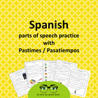 The Story Factory: Spanish Word Works, Pasatiempos, Pastim