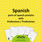 The Story Factory: Spanish Word Works, Professions PACKET