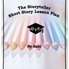 The Storyteller Saki Lesson Plans (Hector Hugh Munro) Narr