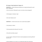 The Stranger by Albert Camus: Study Guide Packet for the Novel