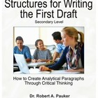 The Structured Writing Process: Cross-Curricular Writing Strategy