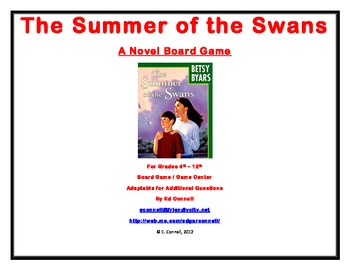 The Summer of the Swans Board Game