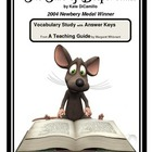 The Tale of Despereaux  Vocabulary
