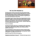 &quot;The Tale of the Mountain Cat&quot; A Native Story