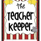 The Teacher Keeper {Organizational Binder in Hollywood Theme}