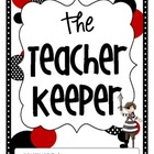 The Teacher Keeper {Organizational Binder with Pirates, Re