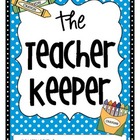 The Teacher Keeper {Organizational Binder with Polka Dots 