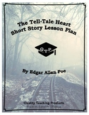The Tell-Tale Heart Edgar Allan Poe Lesson Plan Worksheets