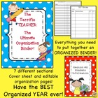 The Terrific Teacher:  The Ultimate Organization Binder