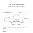 The Things They Carried - 5-Paragraph Essay Packet