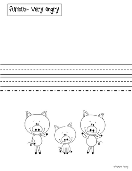The Three Little Pigs Literacy Activities