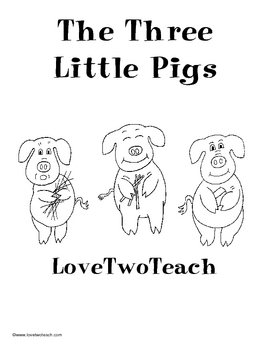The Three Little Pigs:  Literacy and Math Center Fun