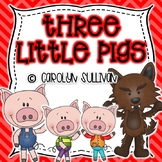 The Three Little Pigs Mini Unit (Perfect for Substitute Plans!)