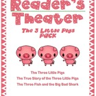 The Three Little Pigs: Readers&#039; Theater PACK