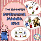 The Three Pigs, Beginning, Middle and End