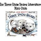 The Three Snow Bears: Jan Brett Literature Activities Packet