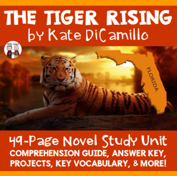 The Tiger Rising Reading Comprehension Activity Guide
