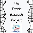 The Titanic Research & 3D Writing Project