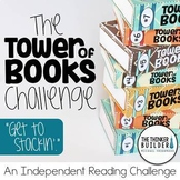 "The ""Tower of Books"" Challenge {An Independent Reading Challenge}"