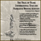 The Trail of Tears Informational Text and Narrative Writin