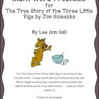 The True Story of the Three Little Pigs Word Problems