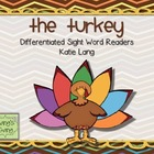 The Turkey Sight Word Readers