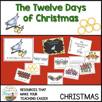 The Twelve Days of Christmas Visuals, Reader, Coloring Book +