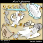 The Ugly Duckling Clipart