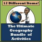 The Ultimate Geography Bundle - 12 Different Activities!