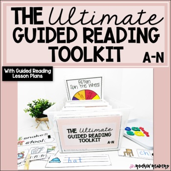 The Ultimate Guided Reading Toolkit Bundled with Guided Reading Lesson Plans
