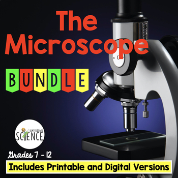 The Ultimate Microscope Teaching Bundle of 8 products