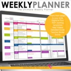 Teacher Binder - Plan Book - The Ultimate Weekly Planner