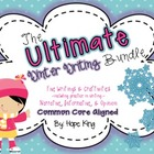 The Ultimate Winter Writing & Craft Bundle {Aligned to Com