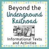 The Underground Railroad, Canadian History - Activities fo