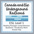The Underground Railroad (ESL 1)