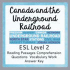 The Underground Railroad (ESL 2)