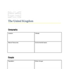 The United Kingdom Atlas Page, Fact Sheet