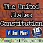 The United States Constitution Unit Plan! 11 very hands-on