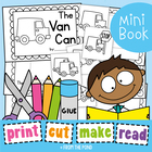 The Van Can Printable Reader - Print Cut Make and READ
