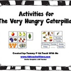 The Very Hungry Caterpillar Activity Cards