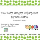 The Very Hungry Caterpillar- Kindergarten Math Centers