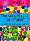 The Very Hungry Caterpillar - Sequencing Cards