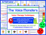 The Voice Monsters {Voice Therapy Techniques}
