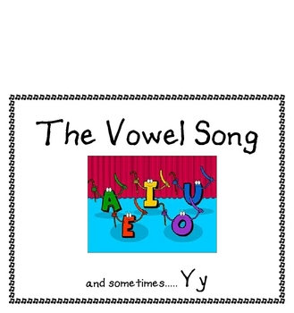 The Vowel Song and Phonics Poem A - Z