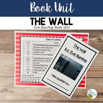 The Wall by Eve Bunting Book Unit: Pairing Fiction With Non-Fiction