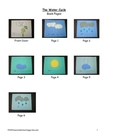 The Water Cycle Book for Students to Make